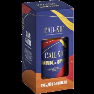 Caleno Dark & Spicy Bottle in a Gift Box