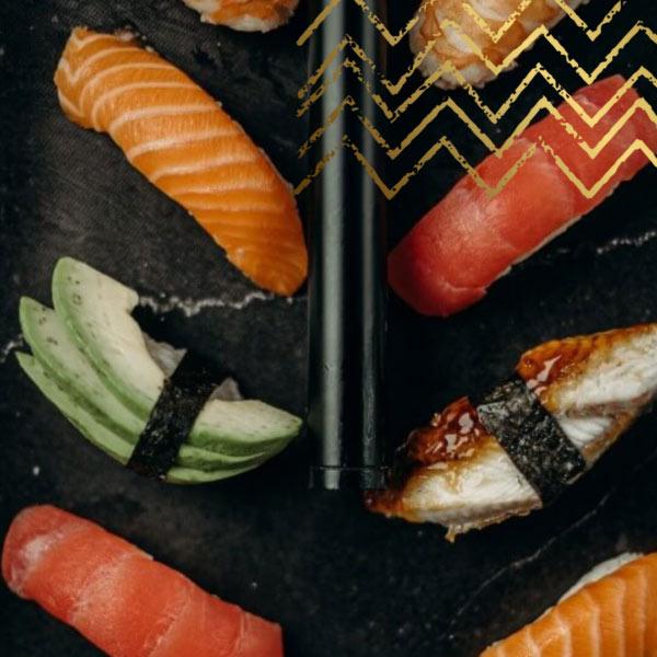 Sushi from Sushi Lane, Brick Lane, East London