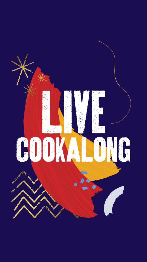 Live cookalong